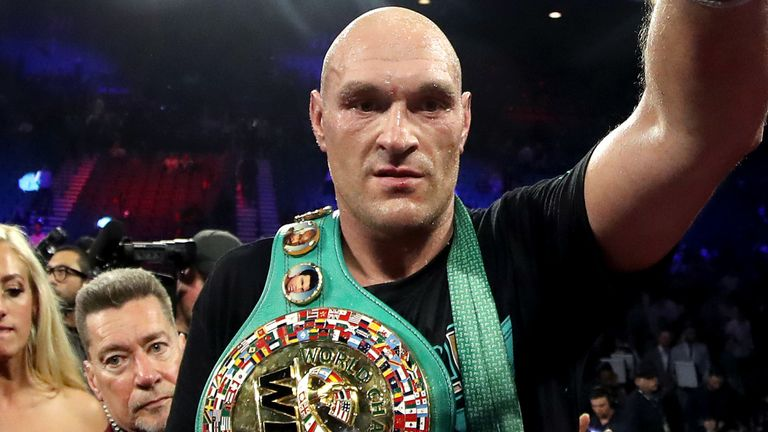 Fury believes 'people are really realising what's important in life'