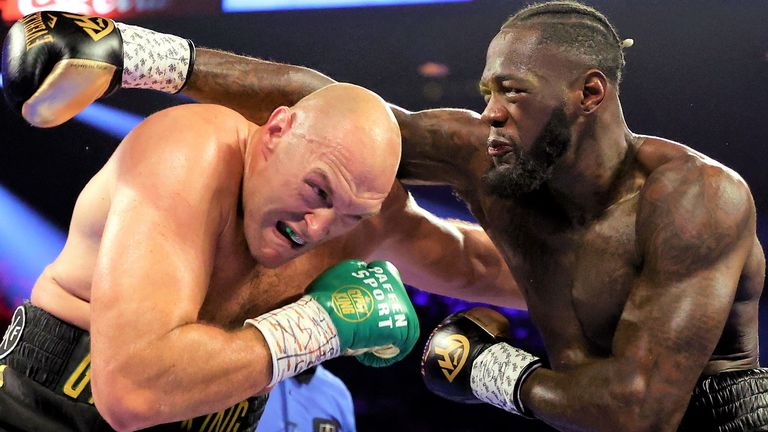 Tyson Fury had been expected to fight Deontay Wilder again in the summer