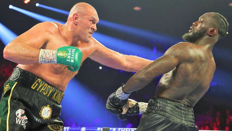 Tyson Fury stopped Deontay Wilder in the seventh round in February