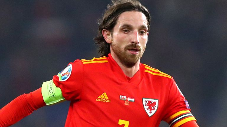 Joe Allen is set to miss Wales' Euro 2020 campaign this summer with a ruptured Achilles tendon