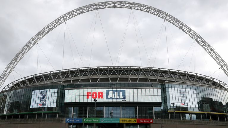 General view of Wembley