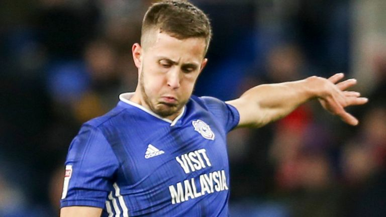 Will Vaulks of Cardiff City