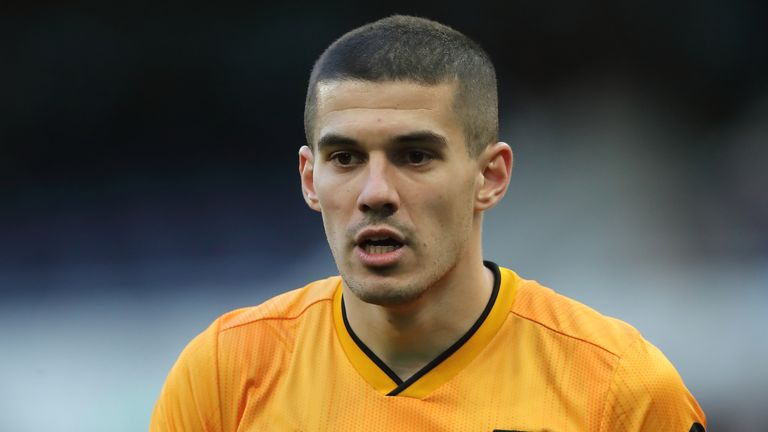 Conor Coady fears for the health of his family ahead of Wolves' trip to Olympiacos