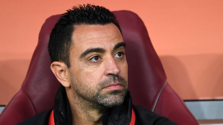 Xavi is currently the head coach of Qatar Stars League club Al Sadd