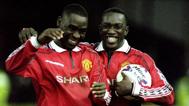 Yorke scored 18 in 32 league starts, while Cole scored 17 in just 26 during 1998/99