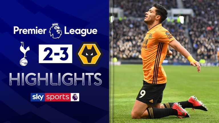 Highlights from Spurs v Wolves