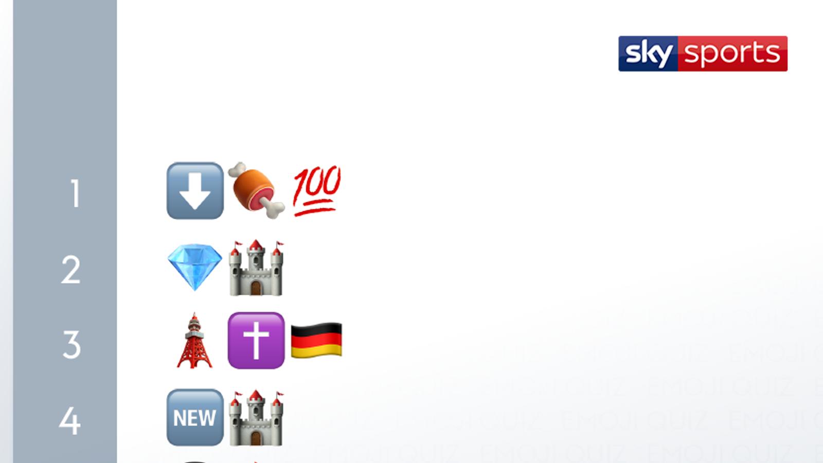 Quiz Emoji: ¡nombra ese club de fútbol! El | Noticias de futbol 26