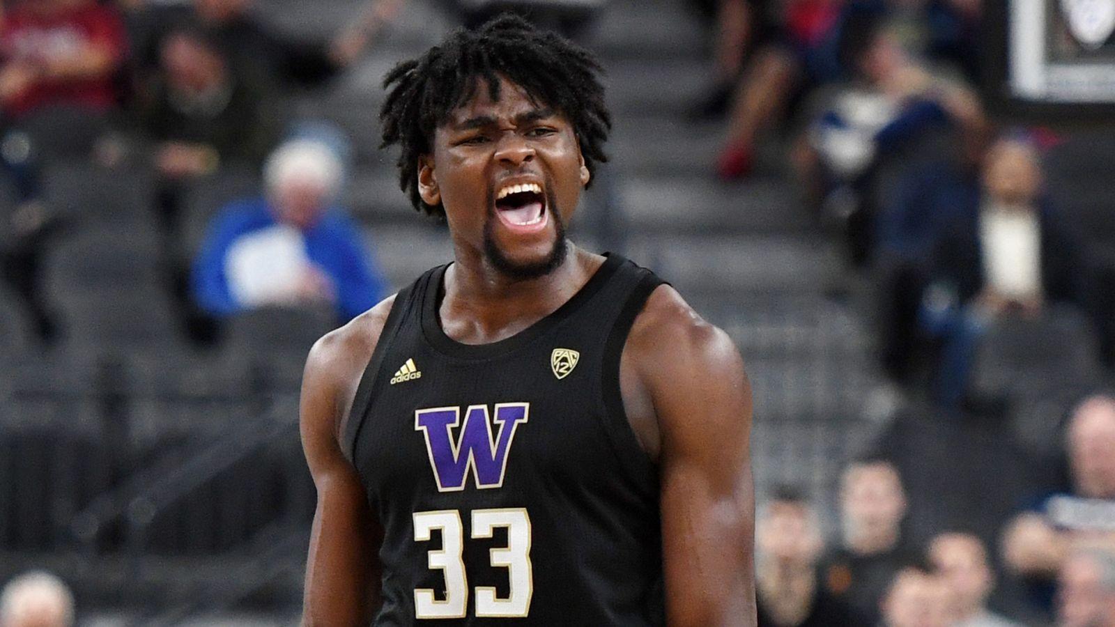 El estudiante de primer año de Washington, Isaiah Stewart, declara para el Draft de la NBA | Noticias de la NBA 7