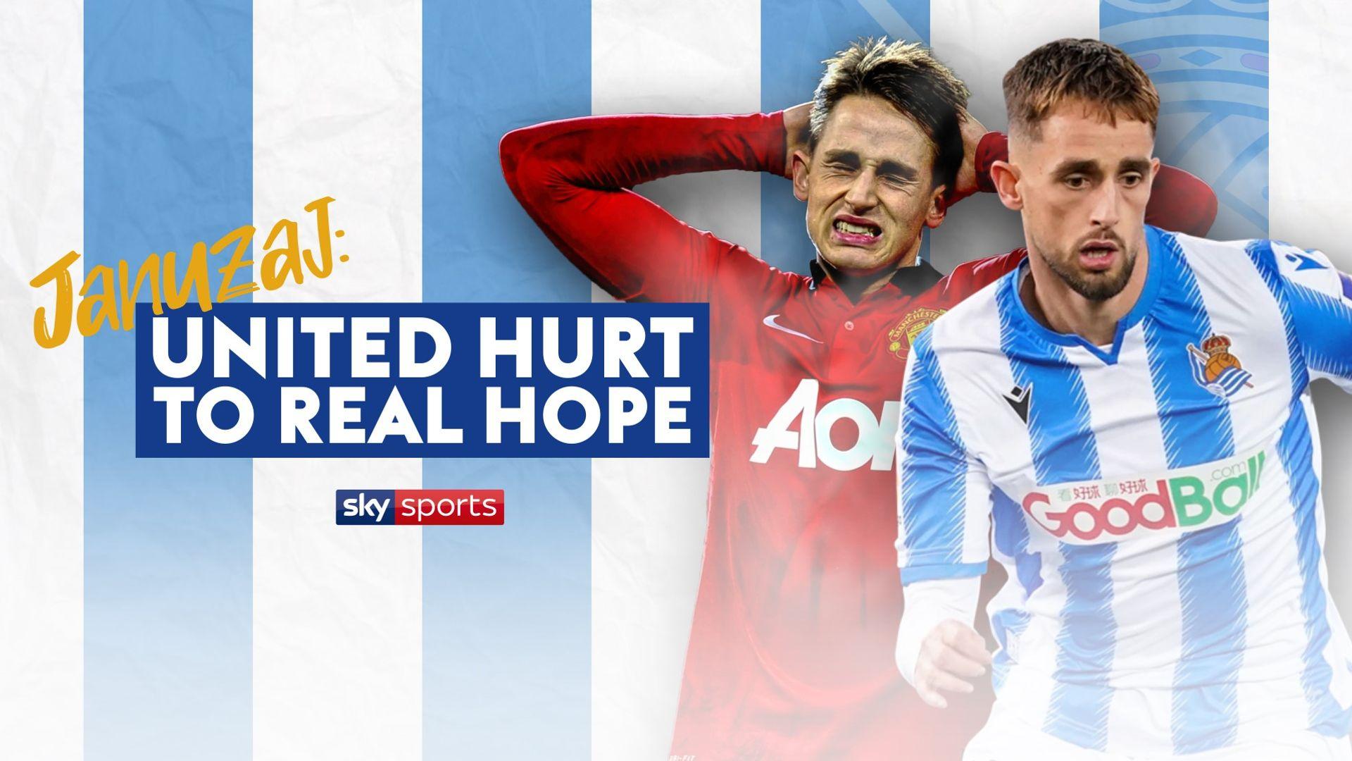 Januzaj - Man Utd hurt to Sociedad hope