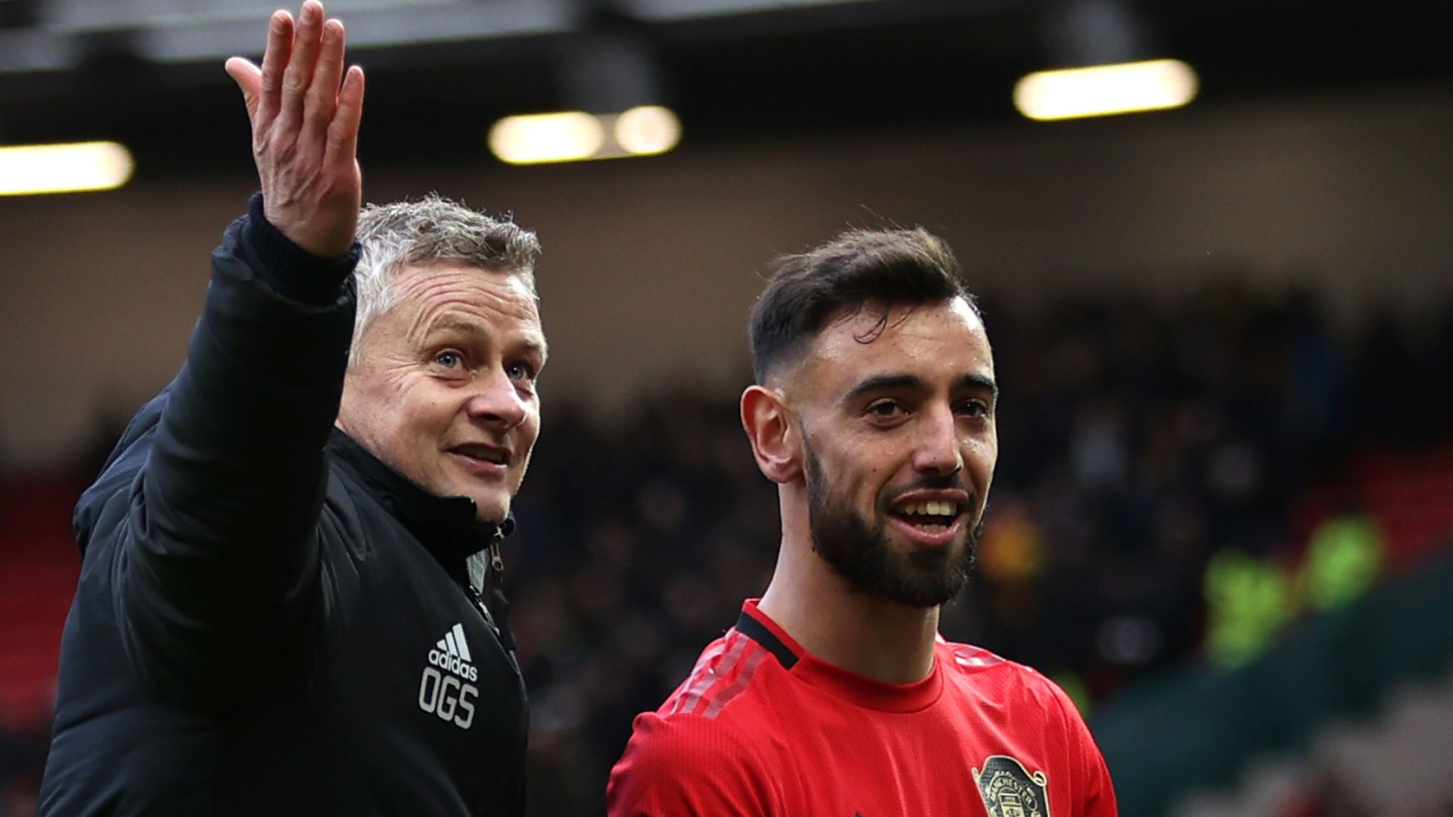 Bruno Fernandes reveals Ole Gunnar Solskjaer role in sealing Manchester  United switch | Football News | Sky Sports