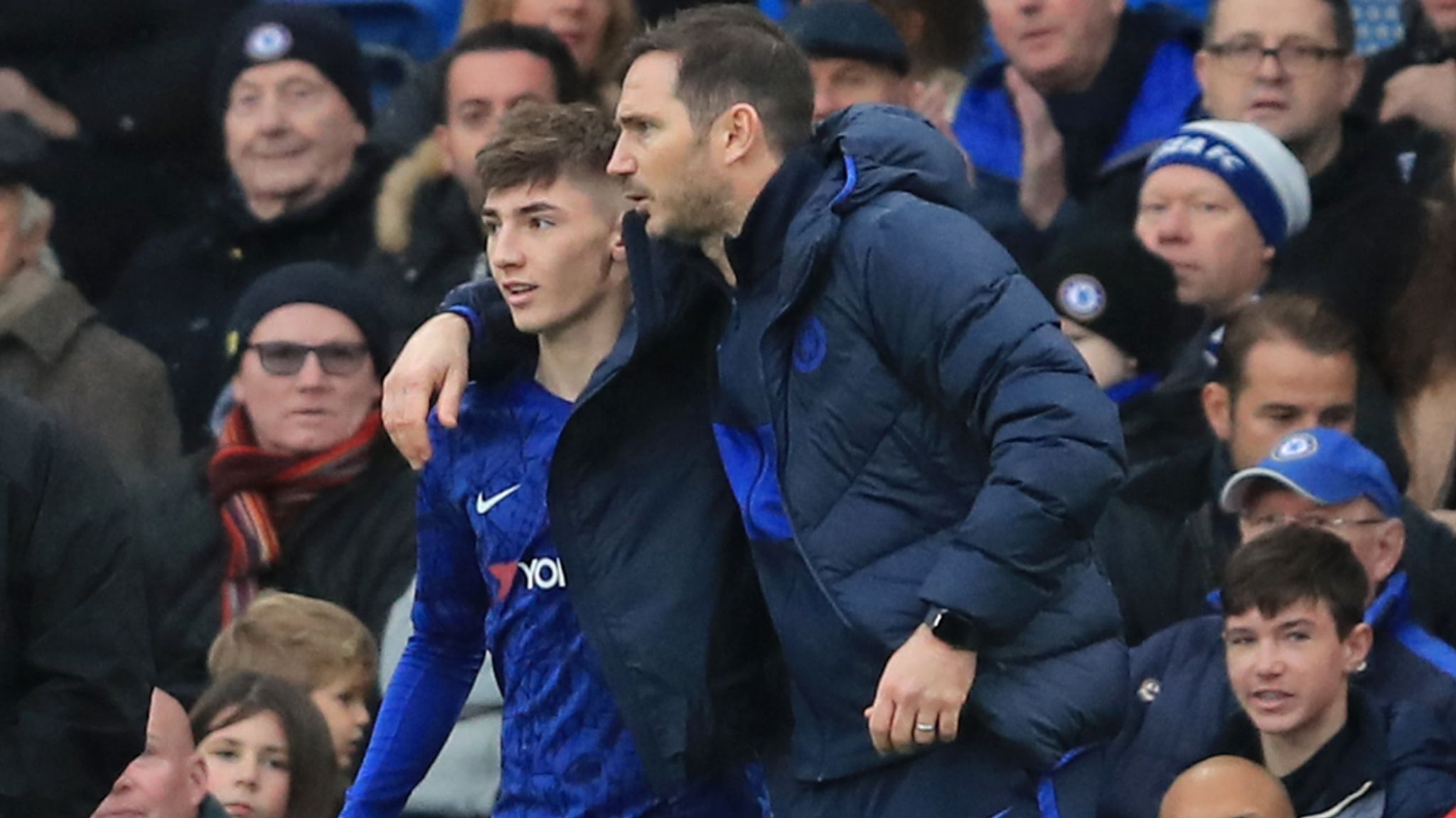 Frank Lampard on how Billy Gilmour shone in Chelsea training ...