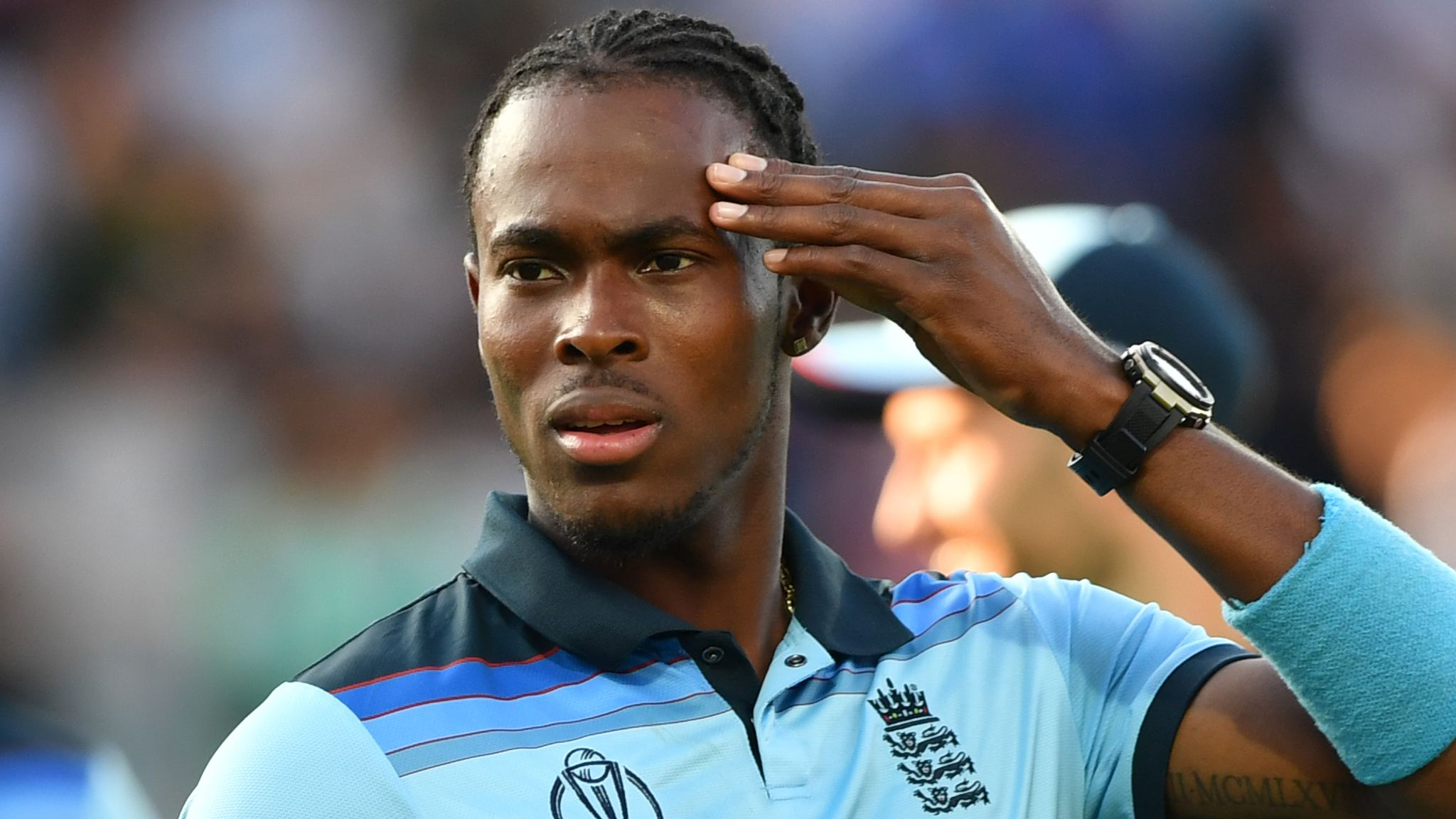 Jofra Archer finds Cricket World Cup medal after losing it during house move | Cricket News | Sky Sports