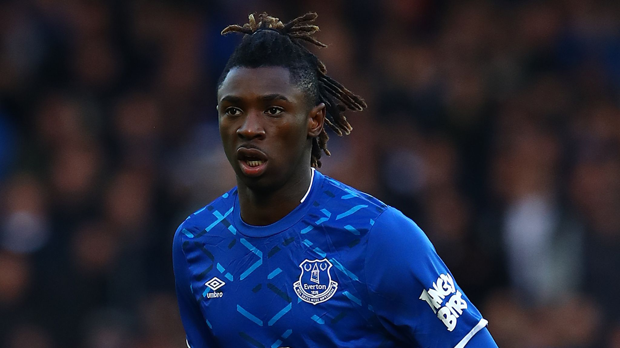 Coronavirus Moise Kean Condemned By Everton After Apparent Breach Of Guidelines Football News Sky Sports