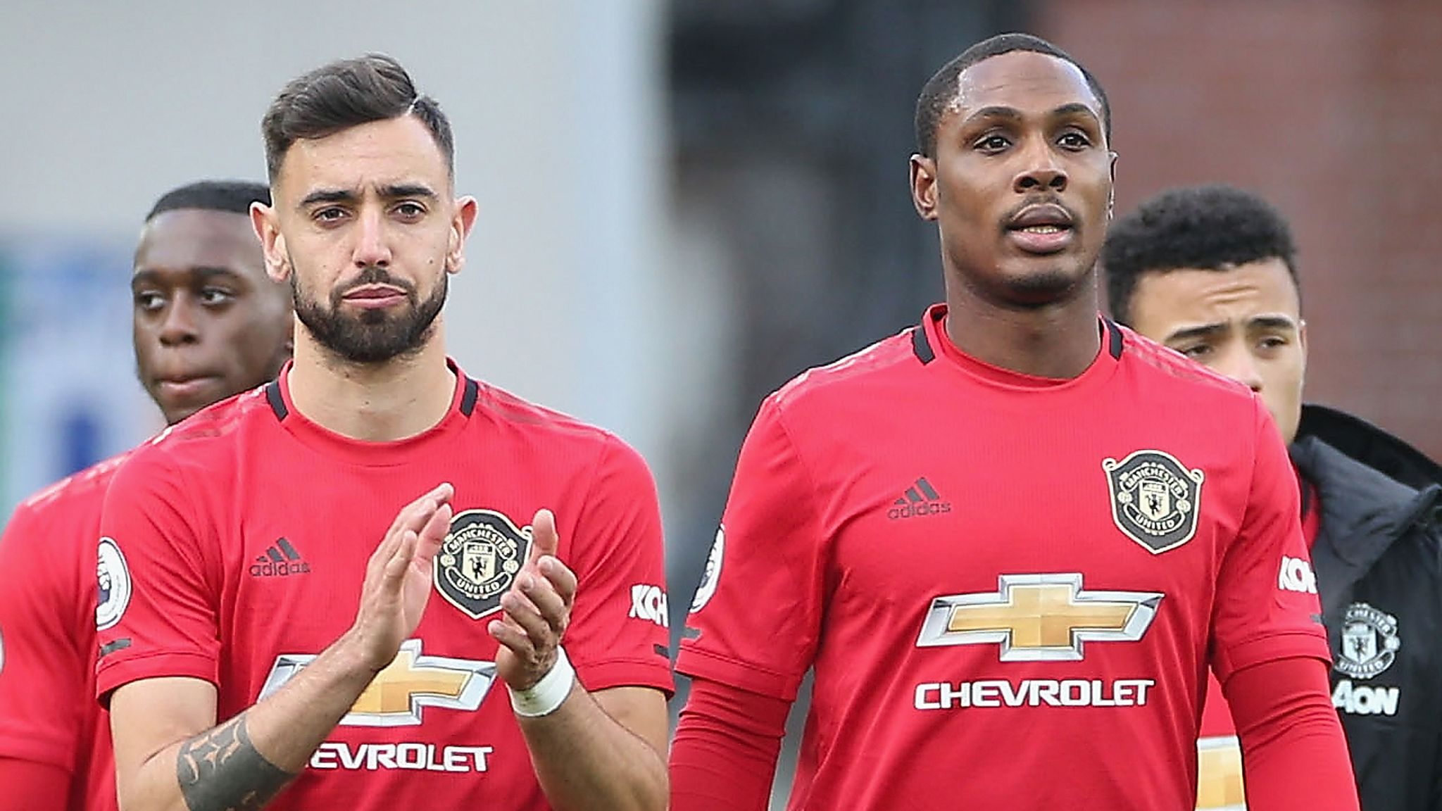 Manchester United's Odion Ighalo says Bruno Fernandes will take ...