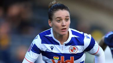 Jade Moore made 53 appearances across three seasons for Reading