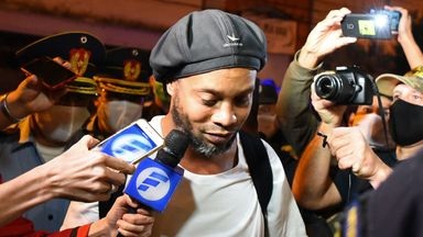 Ronaldinho says he was surprised to find he had been supplied with an illegal document