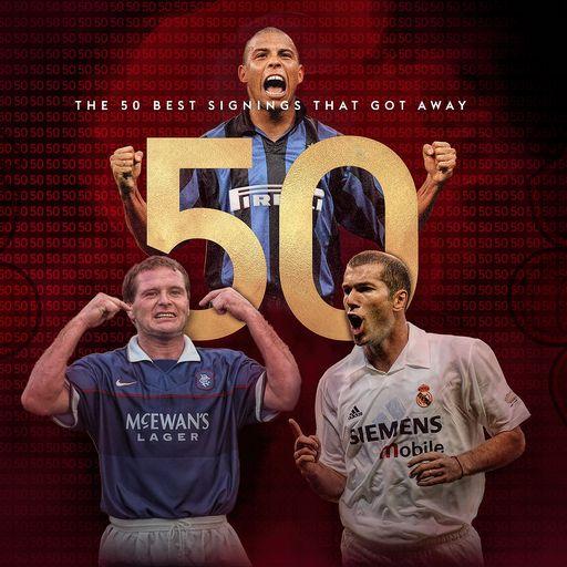 Fifty Man Utd signings that got away