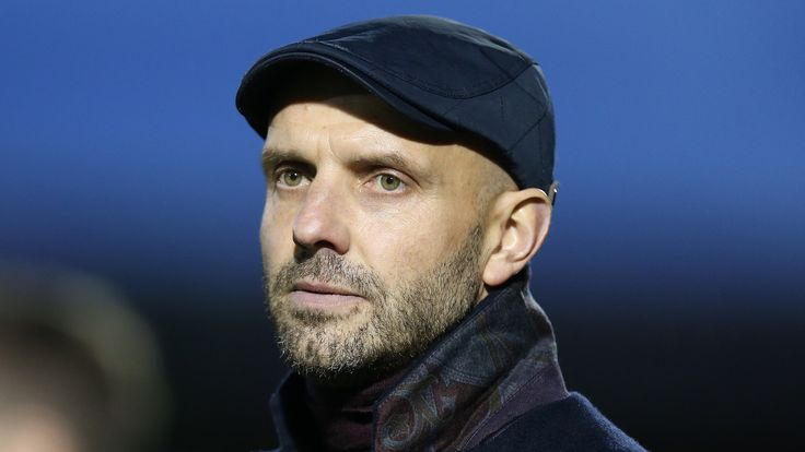 Paul Tisdale, former manager of Exeter City and MK Dons