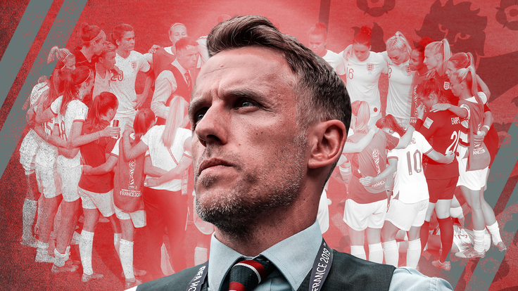 Phil Neville will leave his role as England Women manager in 2021