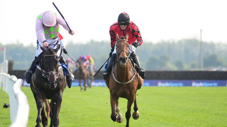 Burrows Saint winning the Irish Grand National