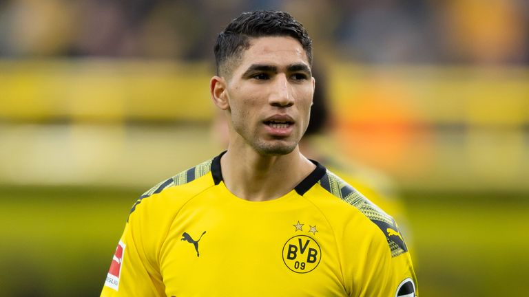 Achraf Hakimi has thrived at Borussia Dortmund and could be sold