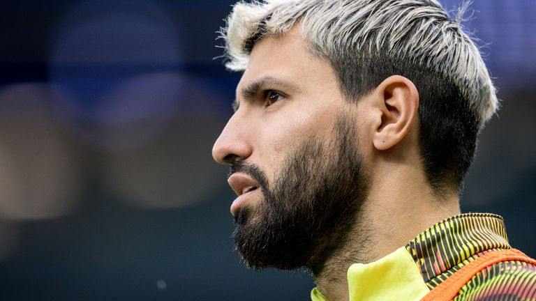 Sergio Aguero has spent lockdown at his Cheshire home