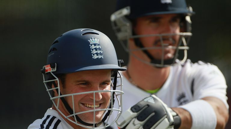 during England nets session ahead of the first Ashes test at The Gabba on November 23, 2010 in Brisbane, Australia.