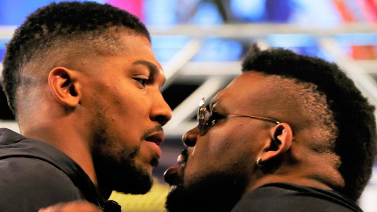 The Brooklyn fighter had been due to face Joshua last year