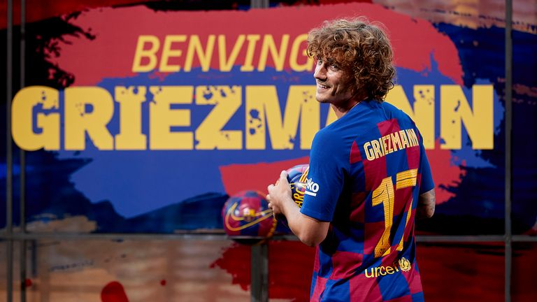 Antoine Griezmann signed for Barcelona from Atletico Madrid in a €120m deal last summer.