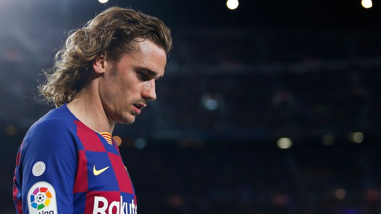 Antoine Griezmann has had an inconsistent first season at Barcelona