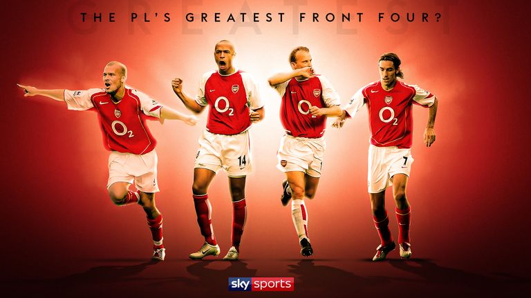 Arsenal front four