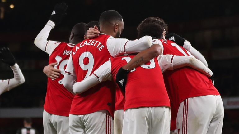 Arsenal are due to be back in Premier League action on June 17