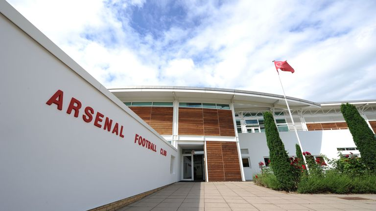 Arsenal's players will be allowed to train individually at the club's London Colney training centre from next week