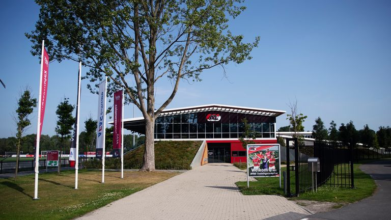 The academy headquarters of AZ Alkmaar where innovation is key
