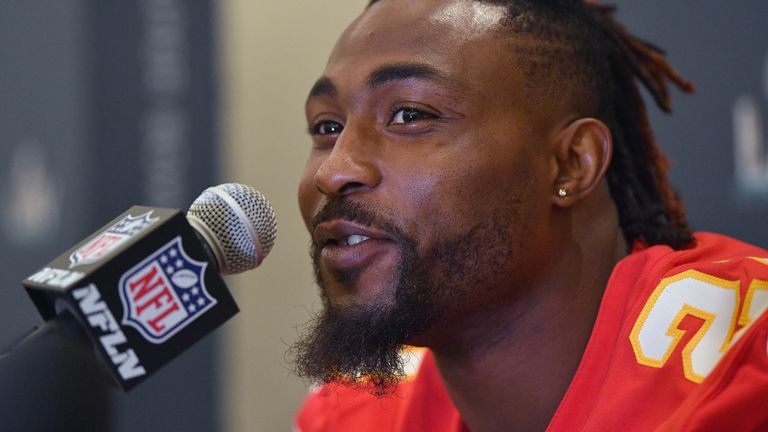 Chiefs' Breeland arrested in SC on 5 charges