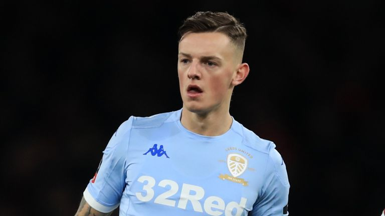 Ben White has been on loan at Leeds since last July