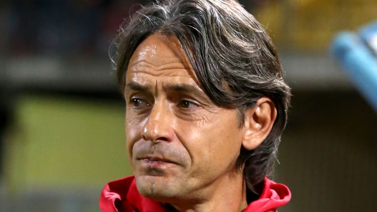 Football Italy - League Serie B BKT 2019-2020 / .( Benevento Calcio ) - .Filippo Inzaghi ,Coach of Benevento Calcio
