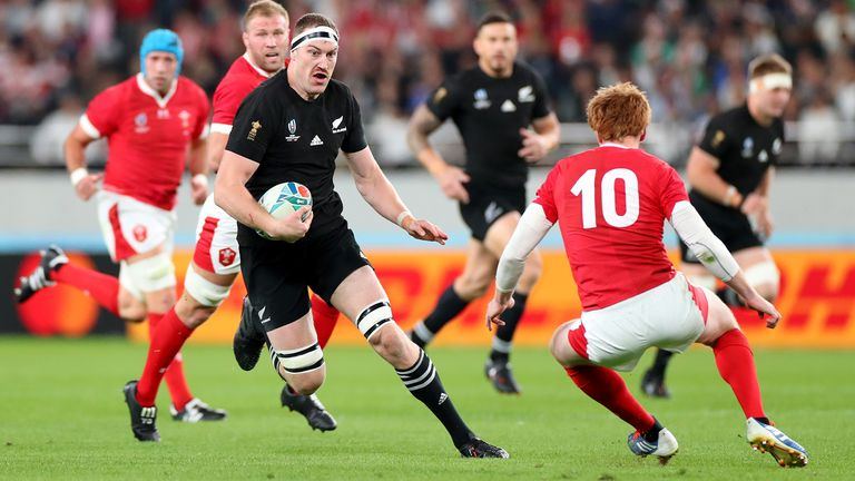 Brodie Retallick would form part of a formidable second row