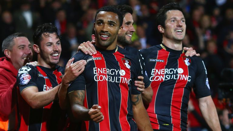 Callum Wilson was on the scoresheet during the 3-0 win over Bolton