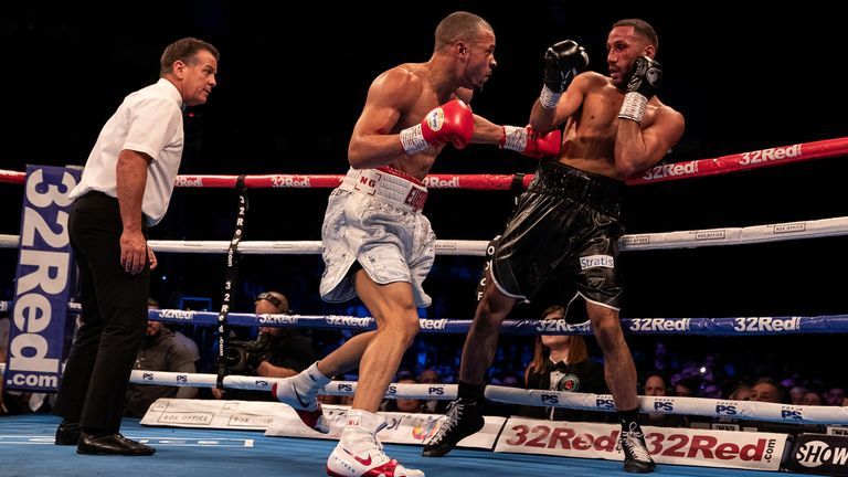 Eubank Jr earned a career-best win over James DeGale last year