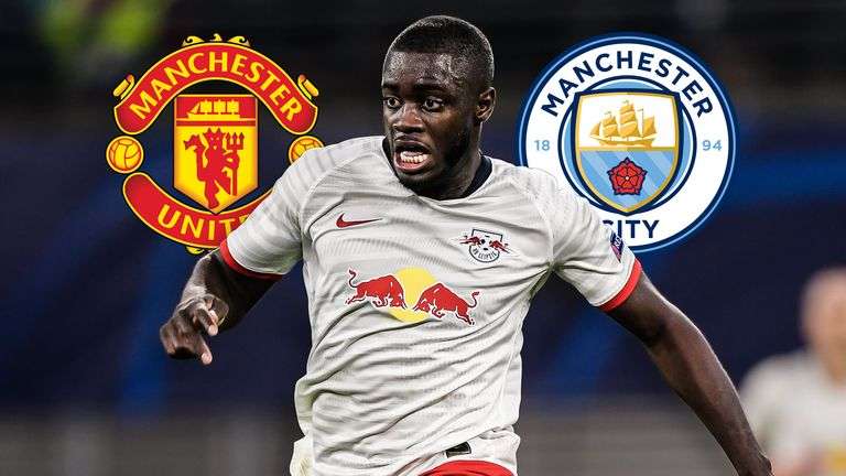 Dayot Upamecano is attracting interest from Manchester United and Manchester City