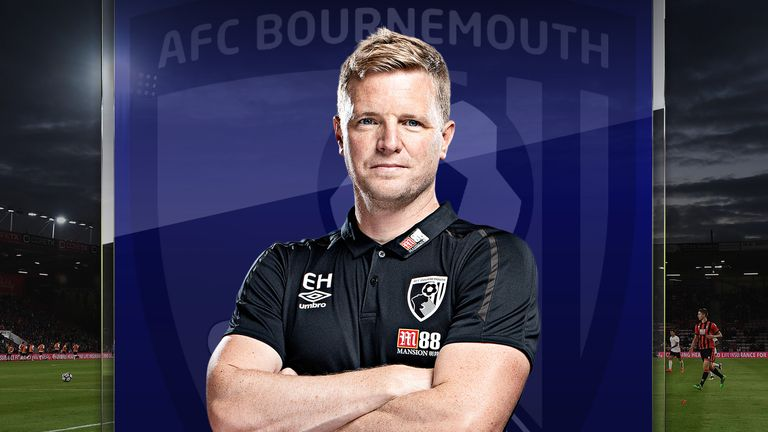 Eddie Howe has taken Bournemouth from League Two to the Premier League - but faces a huge couple of weeks to retain top-flight status