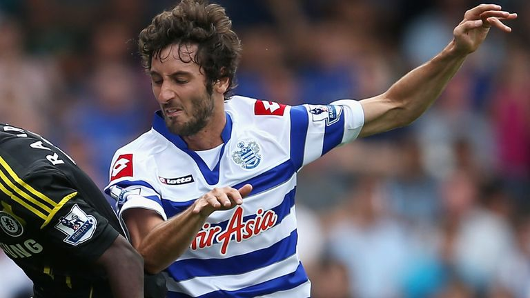 Estaban Granero during the Barclays Premier League match between Queens Park Rangers and Chelsea at Loftus Road on September 15, 2012 in London, England.