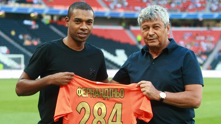 Fernandinho spent eight years with Shakhtar Donetsk