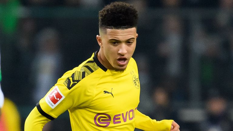 Jadon Sancho has been linked with a return to the UK this summer
