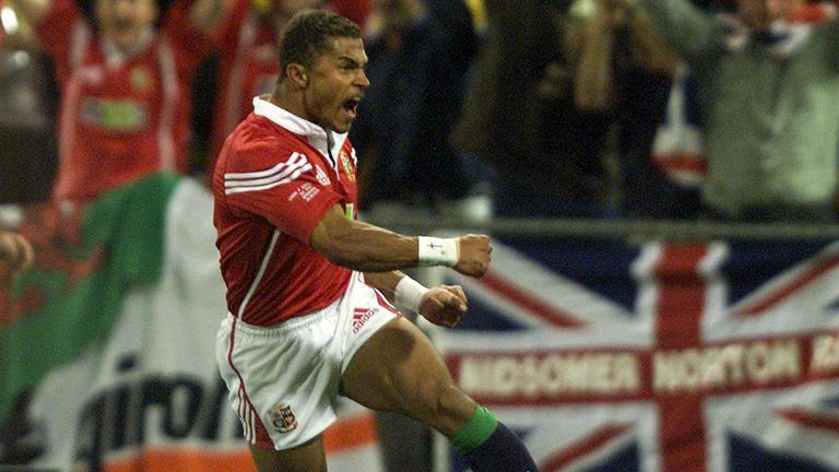 Jason Robinson scores a cracker against Australia for the British & Irish Lions