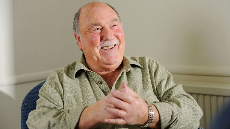Jimmy Greaves photographed in 2010