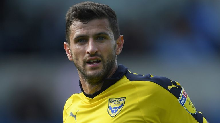 John Mousinho during the Sky Bet League One match between Oxford United and Coventry City at Kassam Stadium on September 9, 2018 in Oxford, United Kingdom.