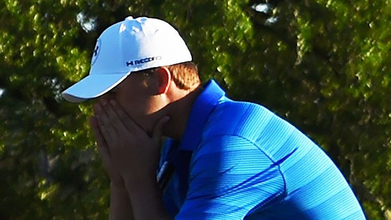 Spieth posted a one-over 73 during the final day