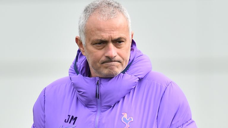 Reports had claimed Mourinho wanted to delay the Premier League's 'Project Restart' due to concerns of players' fitness